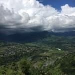 (日本語) 雨季の時期のネパール
