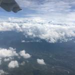 ヒマラヤの山々が楽しめる席